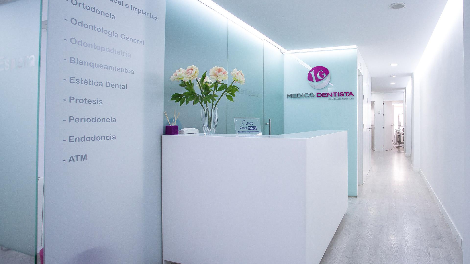 clínica isabel gonzalez médico dentista